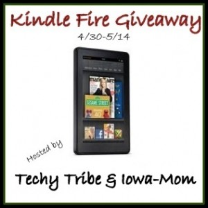 ENTER TO WIN A KINDLE FIRE!