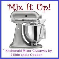 ENTER THE KITCHENAID MIXER GIVEAWAY!