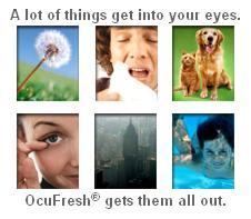 OCUFRESH TO THE RESCUE!