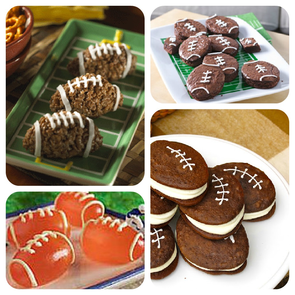 Kid-friendly football snacks