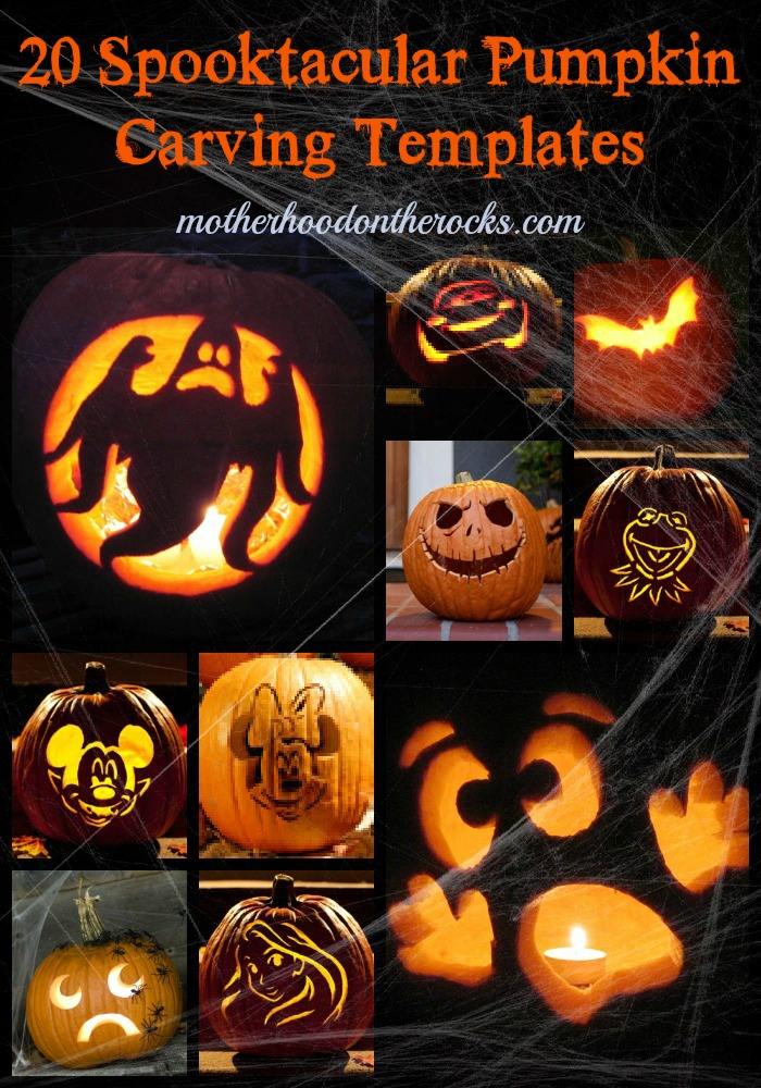 20 Pumpkin Carving Templates And Seed Recipes Motherhood On The