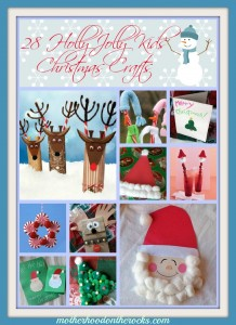 28 of My Favorite Christmas Crafts for Kids