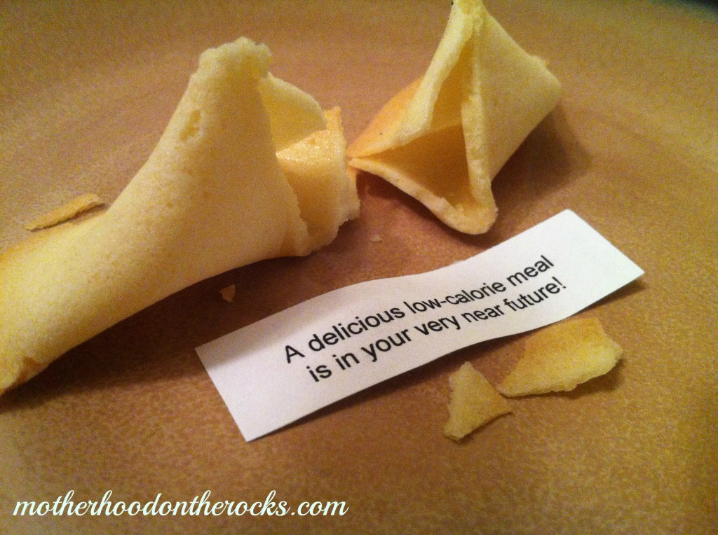 homemade fortune cookie