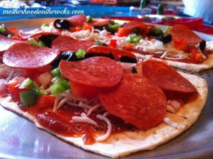 A Holiday Party with Flatout Thin Crust Artisan Pizza Flatbreads