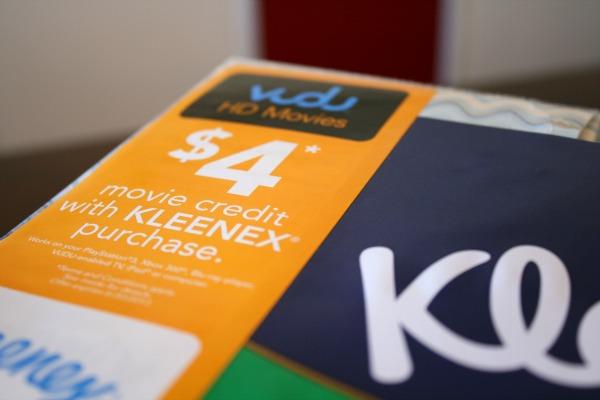 vudu.com kleenex