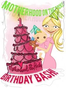 Motherhood on the Rocks Birthday Bash