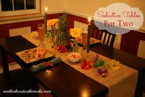 Seductive Tables For Two: Our Romantic Hawaiian Dinner