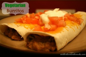 Healthy Bean and Cheese Burrito Recipe