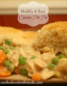 Healthy & Easy Chicken Pot Pie Recipe
