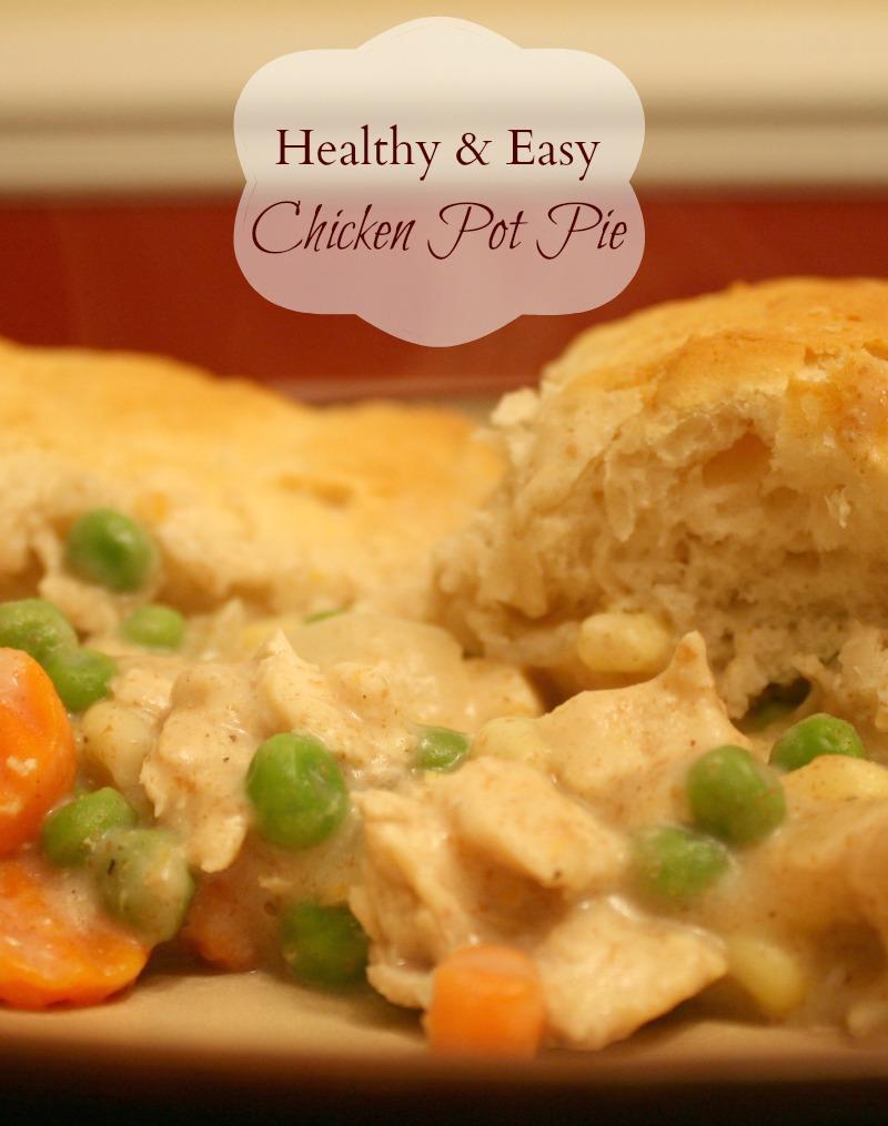 Healthy & Easy Chicken Pot Pie Recipe - Motherhood on the Rocks