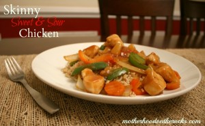 Skinny Sweet & Sour Chicken Recipe