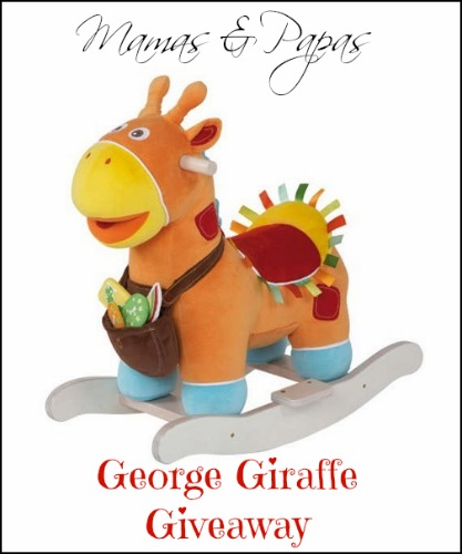 George Giraffe Button