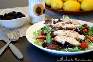 Getting in Shape for Summer with Tyson Grilled & Ready: Grilled Chicken & Berry Salad