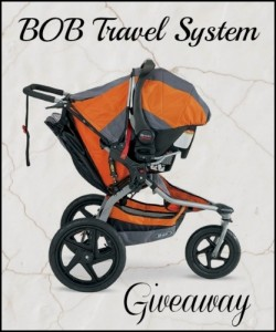 Bob and Britax Ultimate Travel System Giveaway