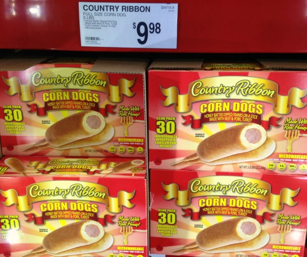 country ribbon corn dogs #shop