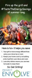 Project Envolve: Grilling Up Summer Meals…and Energy Savings!