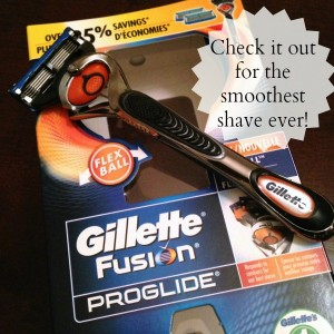 My Sailor Hubby Tests Out the Gillette Fusion ProGlide Razor with Flexball Technology