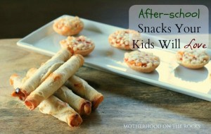 Celebrating Back to School with Delicious After School Snacks