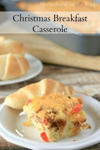 Recipe: Christmas Breakfast Casserole (What's Your Favorite Christmas Tradition?)