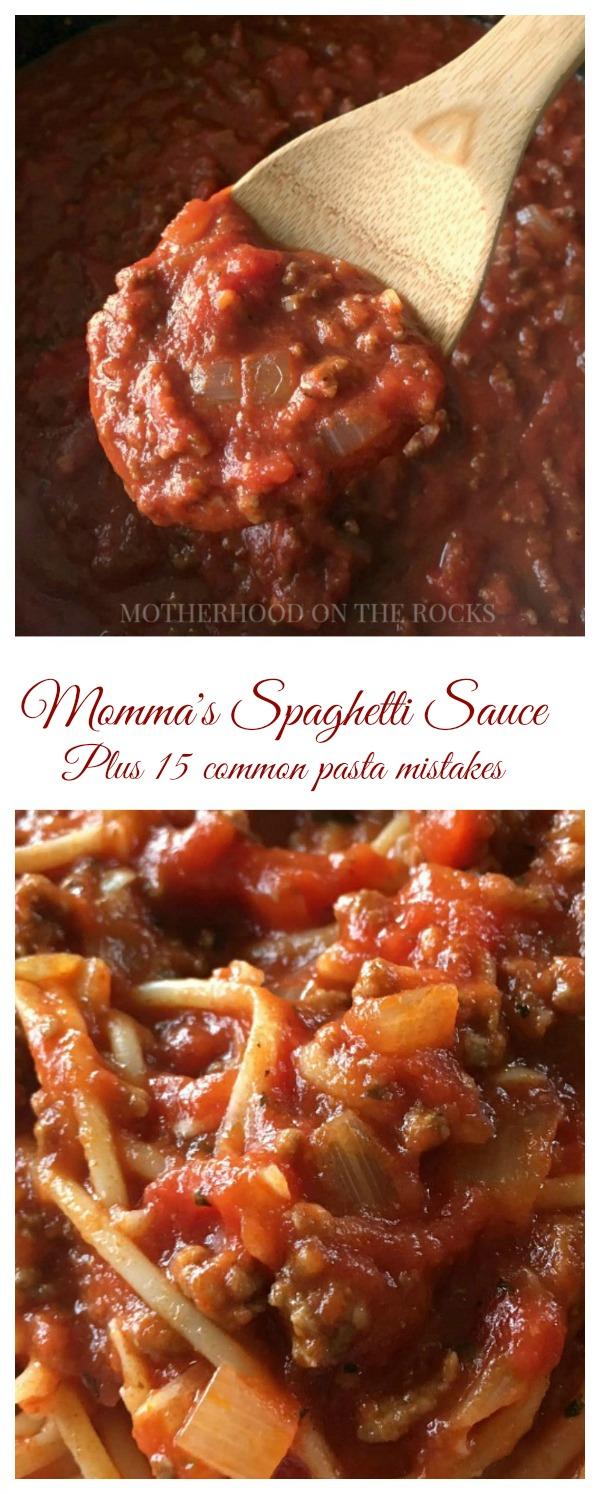Spaghetti Sauce Collage 600