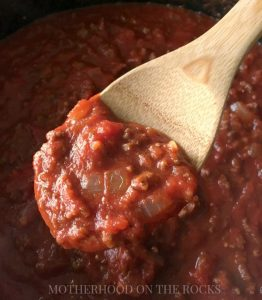 Momma's Spaghetti Sauce (Plus 15 Common Pasta Mistakes)